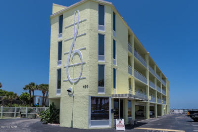 Volusia County Condo/Townhouse For Sale: 453 S Atlantic Avenue #406