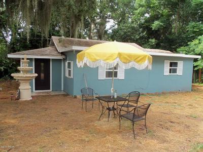 Daytona Beach Single Family Home For Sale: 702 Acirema Drive