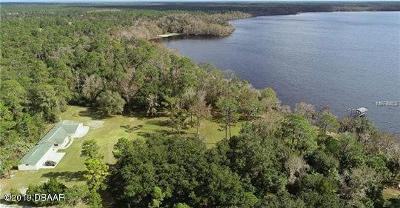 New Smyrna Beach Single Family Home For Sale: 4354 Lake Ashby Road
