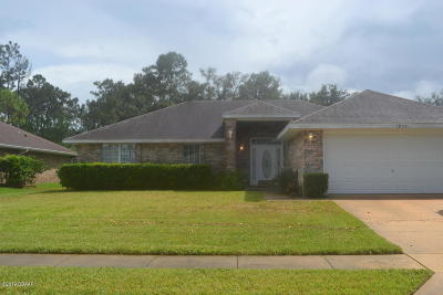 Port Orange Single Family Home For Sale: 1834 Forest Preserve Boulevard