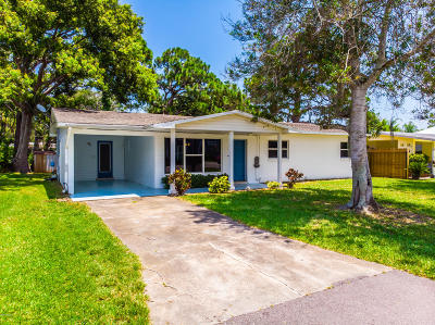 New Smyrna Beach Single Family Home For Sale: 517 S Peninsula Avenue