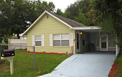 Port Orange Single Family Home For Sale: 637 Ruth Street