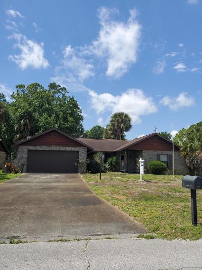 Daytona Beach Single Family Home For Sale: 312 Yorktowne Drive