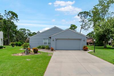 Daytona Beach Single Family Home For Sale: 19 Teal Circle
