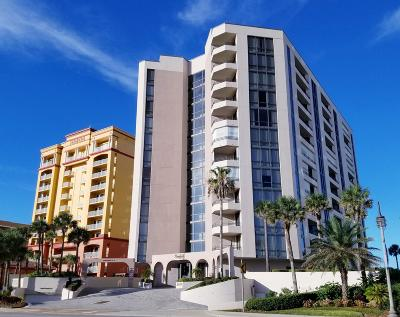 Daytona Beach Shores Condo/Townhouse For Sale: 2917 S Atlantic Avenue #1004