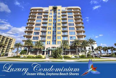 Daytona Beach Shores Condo/Townhouse For Sale: 3703 S Atlantic Avenue #1005