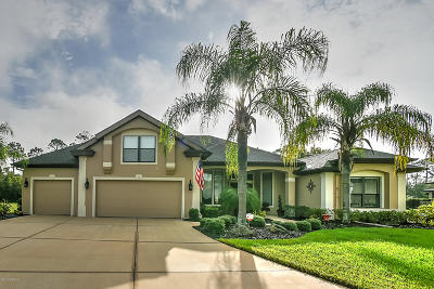 Ormond Beach Single Family Home For Sale: 10 Double Palm Way