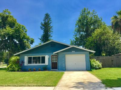 Port Orange FL Single Family Home For Sale: $195,000