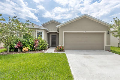 New Smyrna Beach Single Family Home For Sale: 426 Pink Coral Lane