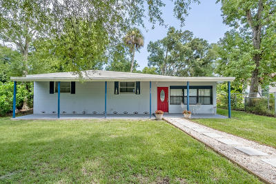 Holly Hill Single Family Home For Sale: 503 6th Street