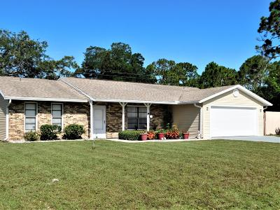 Edgewater Single Family Home For Sale: 1724 Willow Oak Drive