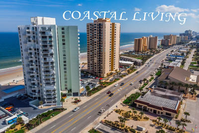 Daytona Beach Shores Condo/Townhouse For Sale: 3051 S Atlantic Avenue #304