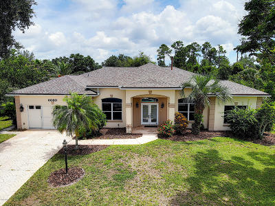 Port Orange Single Family Home For Sale: 6080 Red Stag Drive