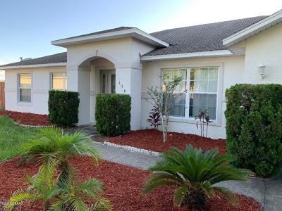 Daytona Beach Single Family Home For Sale: 136 Heathrow Drive