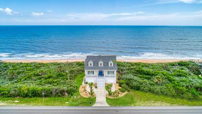 Flagler Beach Single Family Home For Sale: 3051 N Ocean Shore Boulevard