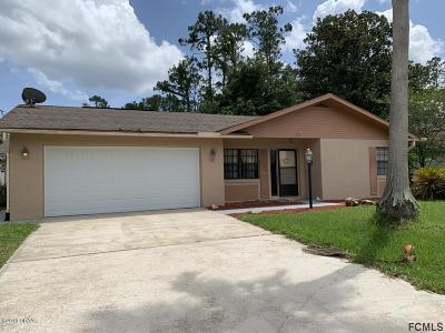 Palm Coast Single Family Home For Sale: 82 Wellwater Drive