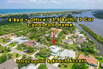 Flagler Beach Single Family Home For Sale: 623 Cumberland Drive