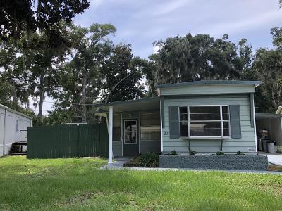 Port Orange FL Single Family Home For Sale: $89,900