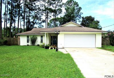 Palm Coast Single Family Home For Sale: 56 Berkshire Lane