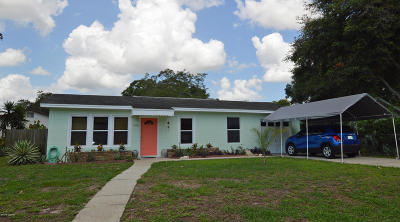 Holly Hill Single Family Home For Sale: 1500 San Jose Boulevard