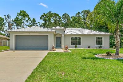 Palm Coast Single Family Home For Sale: 27 Sederholm Path