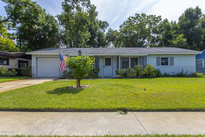 Holly Hill Single Family Home For Sale: 297 Damron Avenue