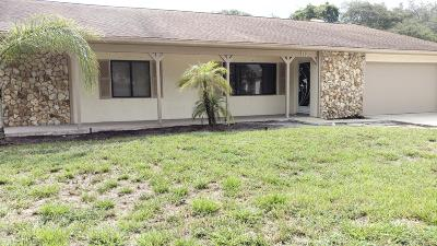 Port Orange Single Family Home For Sale: 887 Chickadee Drive
