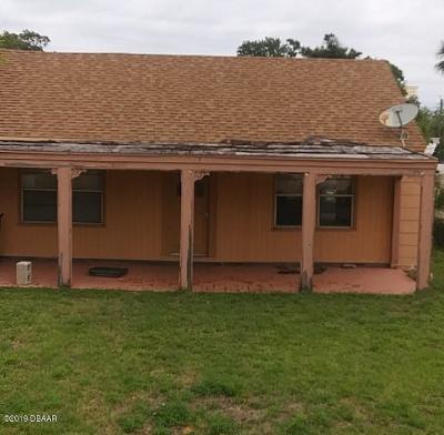 Daytona Beach Single Family Home For Sale: 315 Seaview Avenue