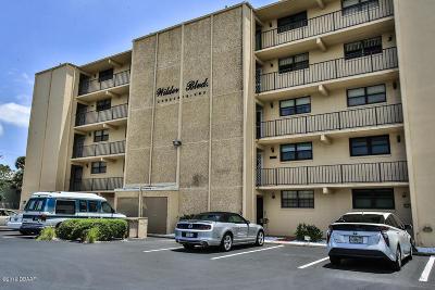 Daytona Beach Condo/Townhouse For Sale: 327 W Wilder Boulevard #B102
