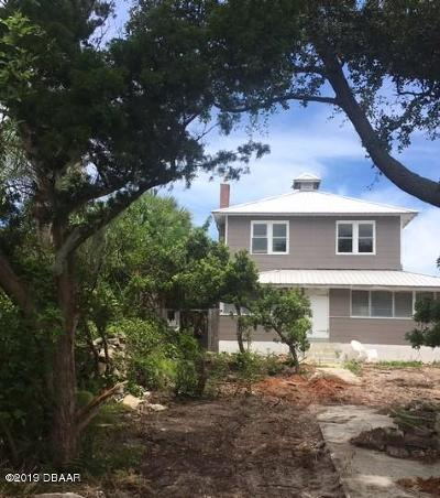 Daytona Beach Single Family Home For Sale: 1919 S Peninsula Drive