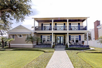 Volusia County Single Family Home For Sale: 608 S Riverside Drive