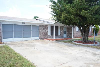 Daytona Beach Single Family Home For Sale: 612 Williamsburg Drive
