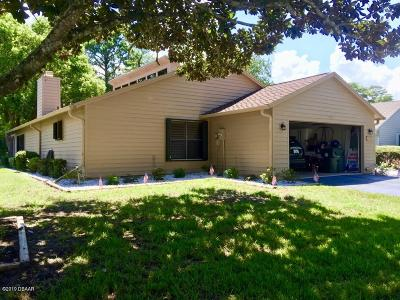 Daytona Beach Single Family Home For Sale: 108 S Gull Drive