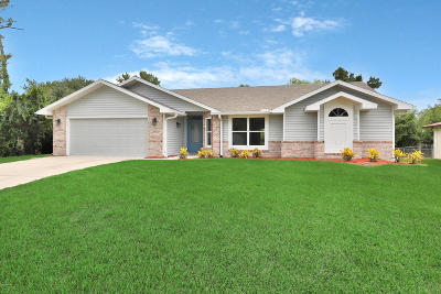 Edgewater Single Family Home For Sale: 2116 Victory Palm Drive