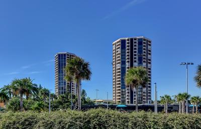 Daytona Beach Shores Condo/Townhouse For Sale: 1 Oceans West Boulevard #21B5