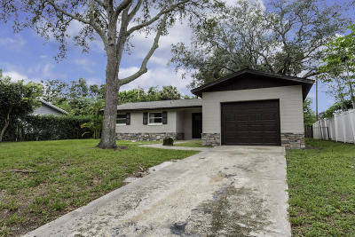Daytona Beach Single Family Home For Sale: 1246 Cedar Circle