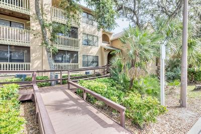 Daytona Beach Condo/Townhouse For Sale: 1401 S Palmetto Avenue #800