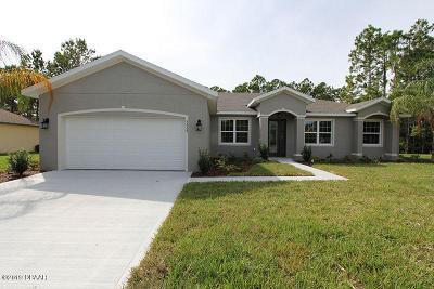 Ormond Beach Single Family Home For Sale: 3428 Saltee Circle