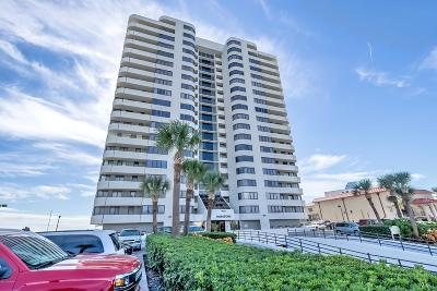 Daytona Beach Condo/Townhouse For Sale: 1420 N Atlantic Avenue #1604