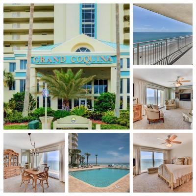 Daytona Beach Shores Condo/Townhouse For Sale: 3333 S Atlantic Avenue #1604