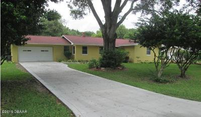 Daytona Beach Single Family Home For Sale: 1050 Cedar Street