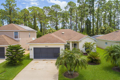 Port Orange Single Family Home For Sale: 5424 Frederick Lake Drive