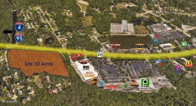 New Smyrna Beach Residential Lots & Land For Sale: State Rd 44 & Walker Street