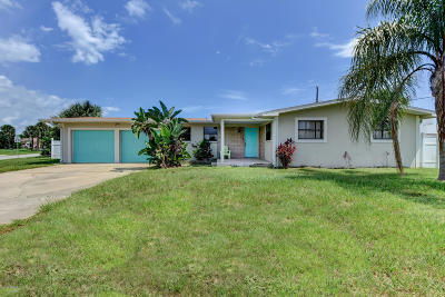 Daytona Beach Single Family Home For Sale: 123 Sea Spray Street