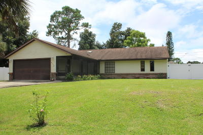 Edgewater Single Family Home For Sale: 2424 Royal Palm Drive