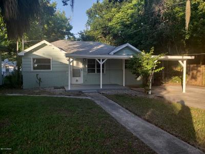 Holly Hill Single Family Home For Sale: 1319 Moravia Avenue