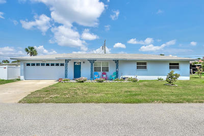 Daytona Beach Shores Single Family Home For Sale: 5 Carter Terrace