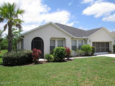 Daytona Beach Single Family Home For Sale: 116 Hagge Drive