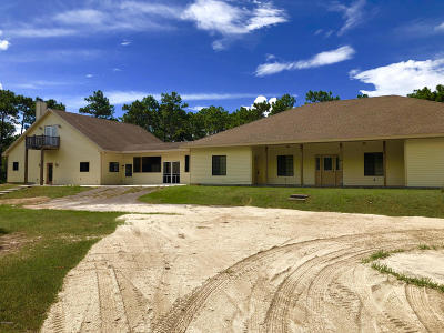 New Smyrna Beach Single Family Home For Sale: 4346 Lake Ashby Road