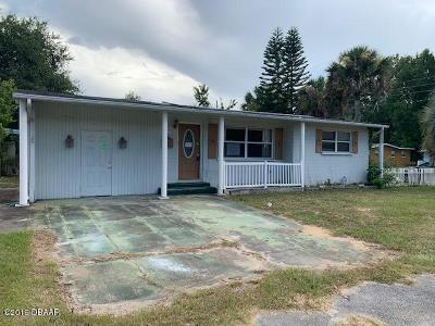 Daytona Beach Single Family Home For Sale: 619 Brentwood Drive